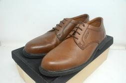 Men's ECCO Dress Shoes. Bison Leather. Plain Toe. US Size 12