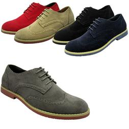 Men's Dress Shoes Wing Tip Classic Lace Up Fashion Oxfords C