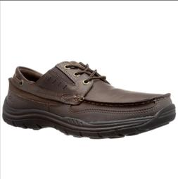 Skechers Men's Expected Gembel Oxford Leather Shoe Relaxed F