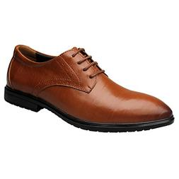 Sun Lorence Men's Fashion Soft Breathable Leather Business F