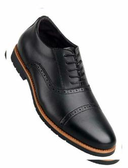 iLoveSIA Men's Leather Oxford Brogue Wingtip Dress Shoes