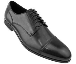 Asher Green Men's Genuine Leather Cap Toe Oxford w/ Detailed