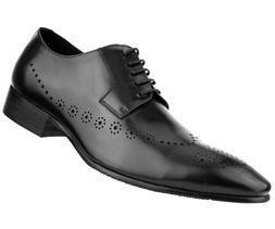Asher Green Men's Genuine Leather Oxford