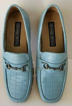 STACY ADAMS  Men's Genuine Leather Slip on Shoes  NIB Sz 8M