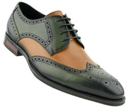 Asher Green Men's Genuine Leather WingTip Oxfords : Style AG