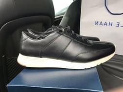 Cole Haan Men's Grand Crosscourt Runner Sneaker, Magnet Leat