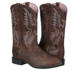 Ariat Men's Heritage Stockman Western Boot Driftwood Brown 1