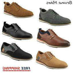 Bruno Marc Mens Leather Lined Casual Shoes Lace Up Formal Dr