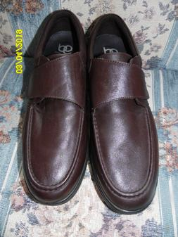 Gravity Defyer Men's Lucca Brown Dress Shoes Size 14