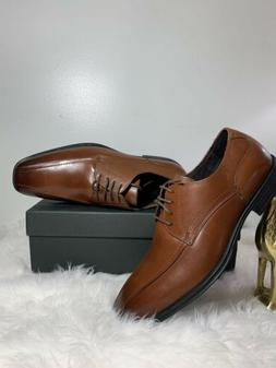 Men's Asher Green Manning Size 11 Dress Shoes Lace-Up Brown