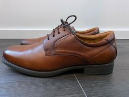 Men's Florsheim Medfield Plain Toe Oxford Dress Shoes Brown