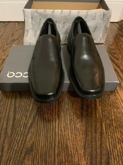 ECCO Men's Men 51504 New Jersey Black Leather Slip On Dress