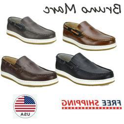 Bruno Marc Men's Moccasins Boat Shoes Lightweight Slip on Lo