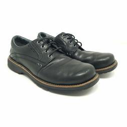 Men's Merrell Realm Lace Dress Shoe Black US size 10 medium