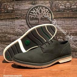 Timberland Men's Sawyer Lane Oxford Navy Leather Shoes. SZ:1