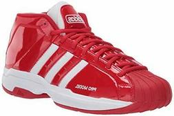 Adidas Men's Shoes EF9819 Low Top Lace Up, Scarlet/Ftwr Whit
