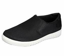 Skechers Men's Shoes Naiter Fabric Closed Toe Slip On, Black