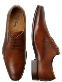 FLORSHEIM Men's Size 14D Cognac Blaze Plain Toe Derbys Oxfor
