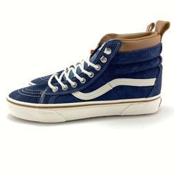 VANS Men's Sk-8 Hi MTE Dress Blue Marshmallow Skate Shoes VN