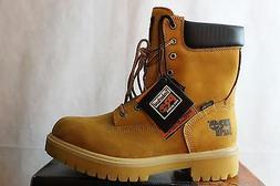 Men's Timberland Pro Safety Toe Wheat Leather Waterproof  8