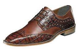 Stacy Adams Men's Tomaselli Wingtip Lace-up Dress Oxford - S