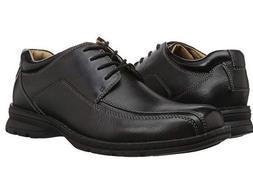 Dockers Men's Trustee Black Leather Dress Oxford Shoes