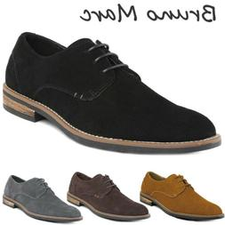BRUNO MARC Mens Oxford Shoes Lace Up Business Casual Suede L