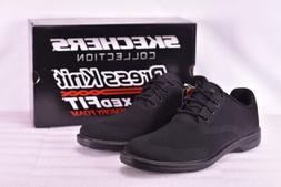 Men's Skechers Dress Knit Walson- Dolen Dress Shoes Black