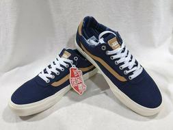 Vans Men's Ward Deluxe Twill Dress Blues Skate Shoes - Assor