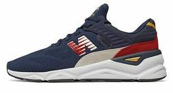 New Balance Men's X-90 Shoes Navy With Red