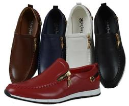 Men Walgate Slip On Shoe Dress Casual Loafer Medium  Formal