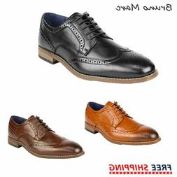 Bruno Marc Mens Oxford Shoes Lace Up Formal Leather Lining B