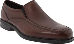 Bostonian Men's Mendon Dress Slip-On,Brown Leather,14 M US