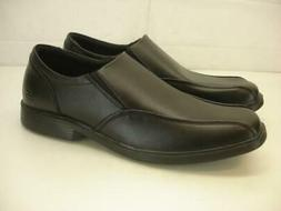 Mens 10.5 M Skechers RELAXED FIT CASWELL NOREN Black Leather