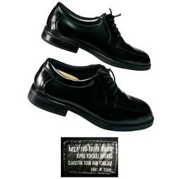 Nunn Bush Black Dress Shoes Mens 12M Lace Comfort Gel Leathe