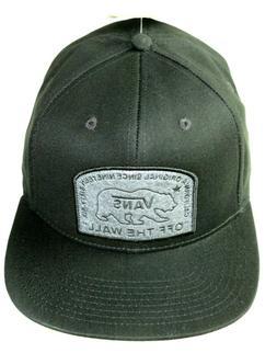Vans Mens Beared California Bear Since 66 Snapback Hat Black