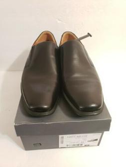 ECCO Men's Black Leather Cairo  Dress Shoes 44 10-10.5 us