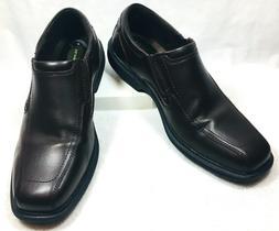 Nunn Bush Men's Bleeker Street Slip-On KORE Brown Dress Ca