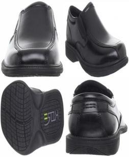 Nunn Bush Men's Bleeker Street Slip-On KORE Slip-Resistant
