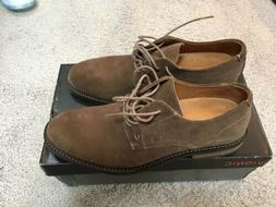 Vionic Mens Bowery Graham Tan Oxford Dress Shoe Size 10