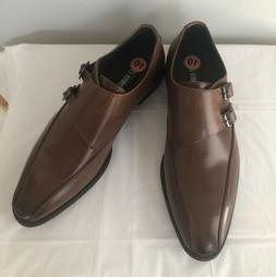 Stacy Adams Men's Brown Leather Dress Shoes Size 10