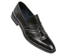 Amali Mens Burnished Smooth Cap Toe Dress Shoe : Style Charl
