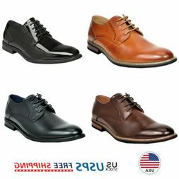 Mens Casual Shoes Lace up Oxfords Wedding Shoes Formal Dress