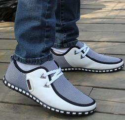 Mens Casual Sports Running Shoes Canvas Non-slip Oxfords Bus