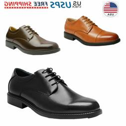 Mens Classic Dress Shoes Faux Leather Formal Oxford Casual S