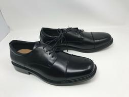 Mens Croft & Barrow  Affleck Black Cap-Toe Dress Shoes 412i