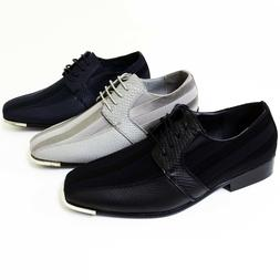 New Men's Dress Casual Shoes Tuxedo Oxford Fashion Lace-Up F