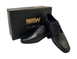 Wizfort Mens Dress Shoes, Black Dress Shoes, Oxford Shoes, L