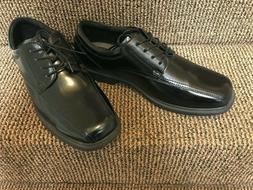 MENS DRESS SHOES - BLACK TIE UPS SIZE 15 W - NUNN BUSH KOR