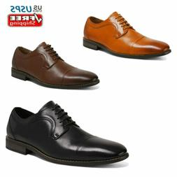 Mens Dress Shoes Lace up Genuine Leather Oxford Shoes Classi